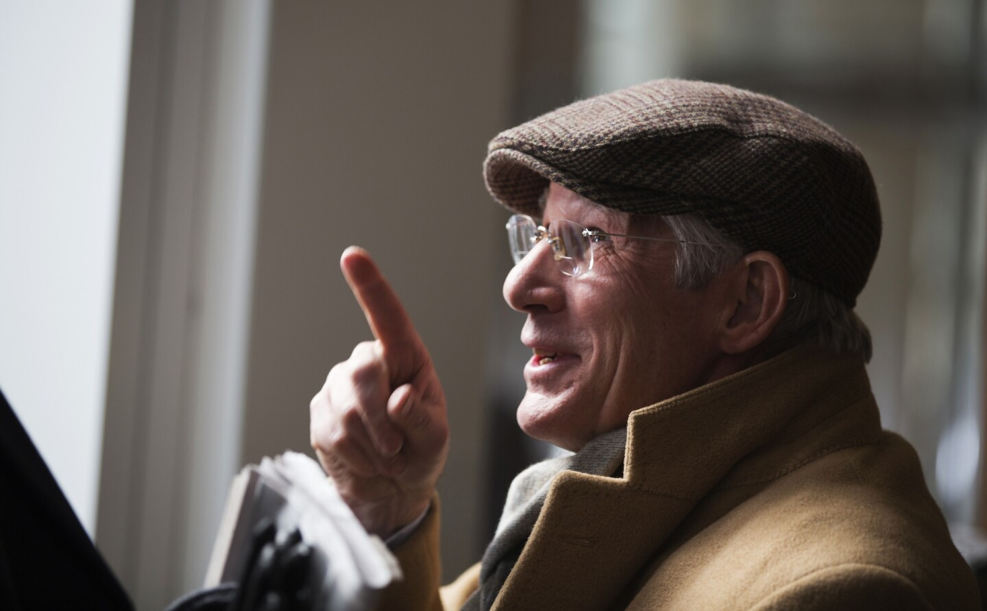 """Richard Gere in """"Norman: The Moderate Rise and Tragic Fall of a New York Fixer.""""   Sony Pictures Classics"""