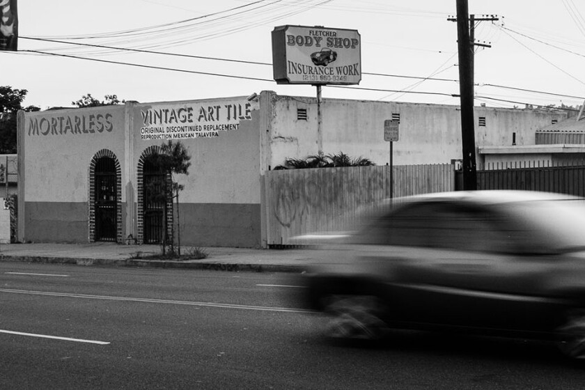A neighborhood street scene | Photo by Bear Guerra