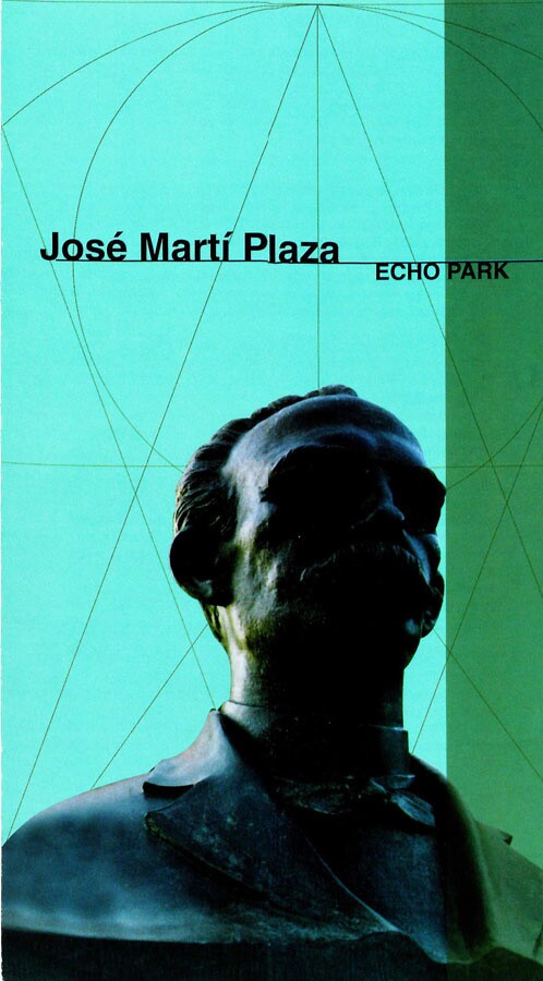 José Martí Plaza, Echo Park, 1976, Cuban California Archive USC Libraries Special Collections.