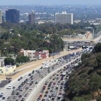 A snapshot of the 405 during rush hour.   Luke Jones / Creative Commons
