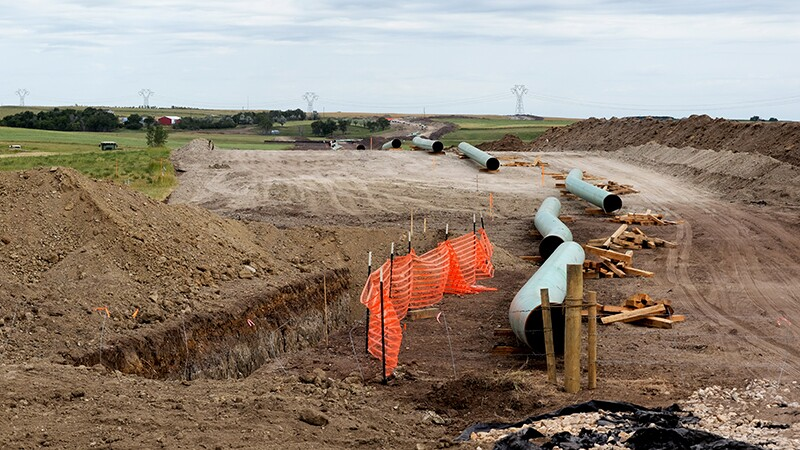 Dakota Access Pipeline under construction in North Dakota | Photo:  Lars Ploughman, some rights reserved