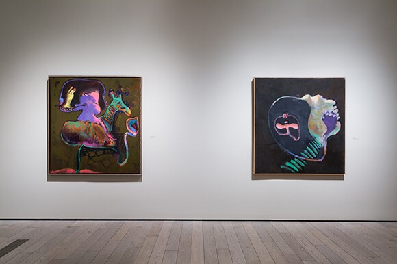 "Installation view, ""John Altoon,"" June 8, 2014-September 14, 2014, Los Angeles County Musuem of Art | © 2014 Estate of John Altoon. Photo: © 2014 Museum Associates/LACMA"