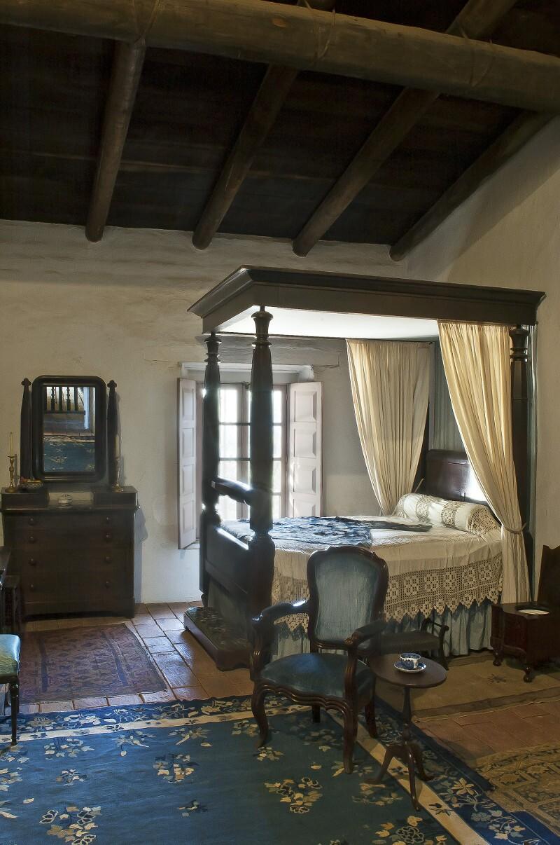 Guest, Blue Bedroom in La Casa de Estudillo