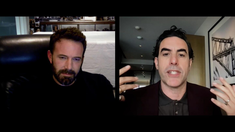 Ben Affleck Sacha Baron Cohen Variety Season 13