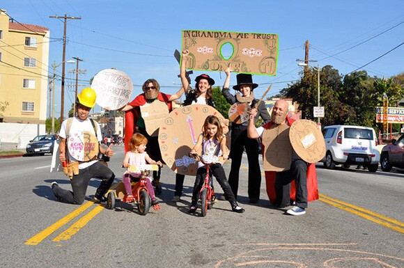 Echo Park Time Bank at Echo Park Community Parade