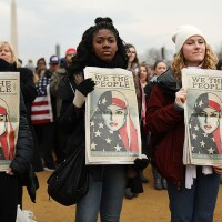 Protesters And Trump Supporters Gather In D.C. For US President Donald Trump Inauguration. | Photo: Spencer Platt/Getty Images