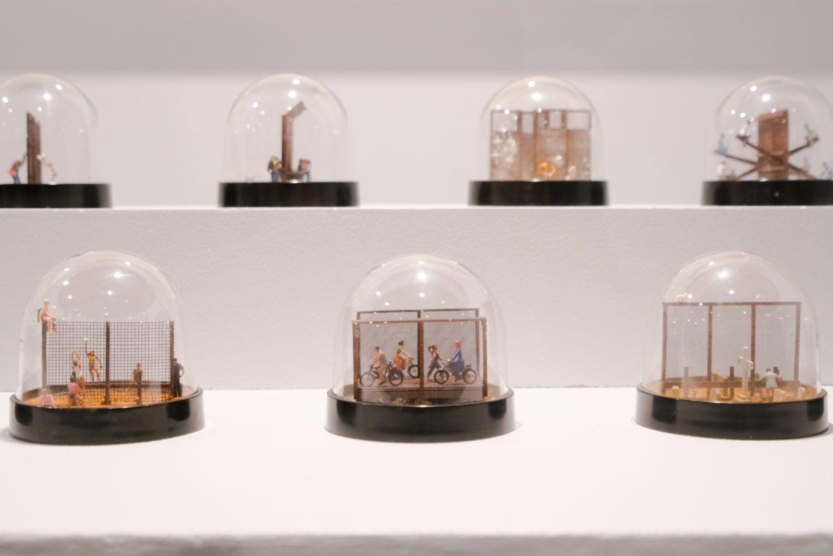 "Ronald Rael & Virginia San Fratello ""Snow Globes"" series | Collection of Rael San Fratello US Mexico Border PST LALA"