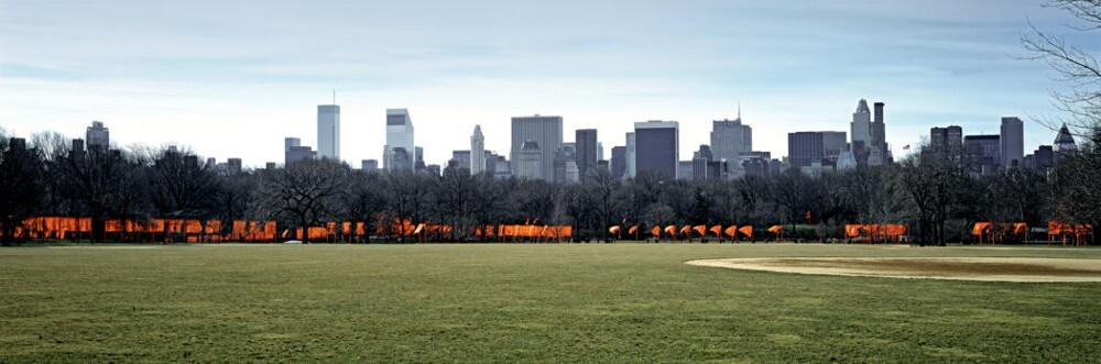 The Gates, Central Park, New York City, 1979-2005. Christo and Jeanne-Claude