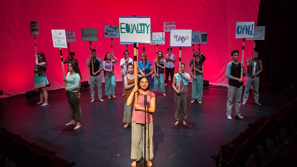 transcenDANCE Youth Arts Project  | Courtesy of California Arts Council