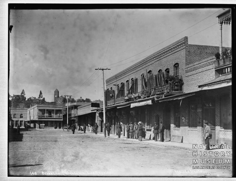 Photo of Old Chinatown, Los Angeles, circa 1890-1920