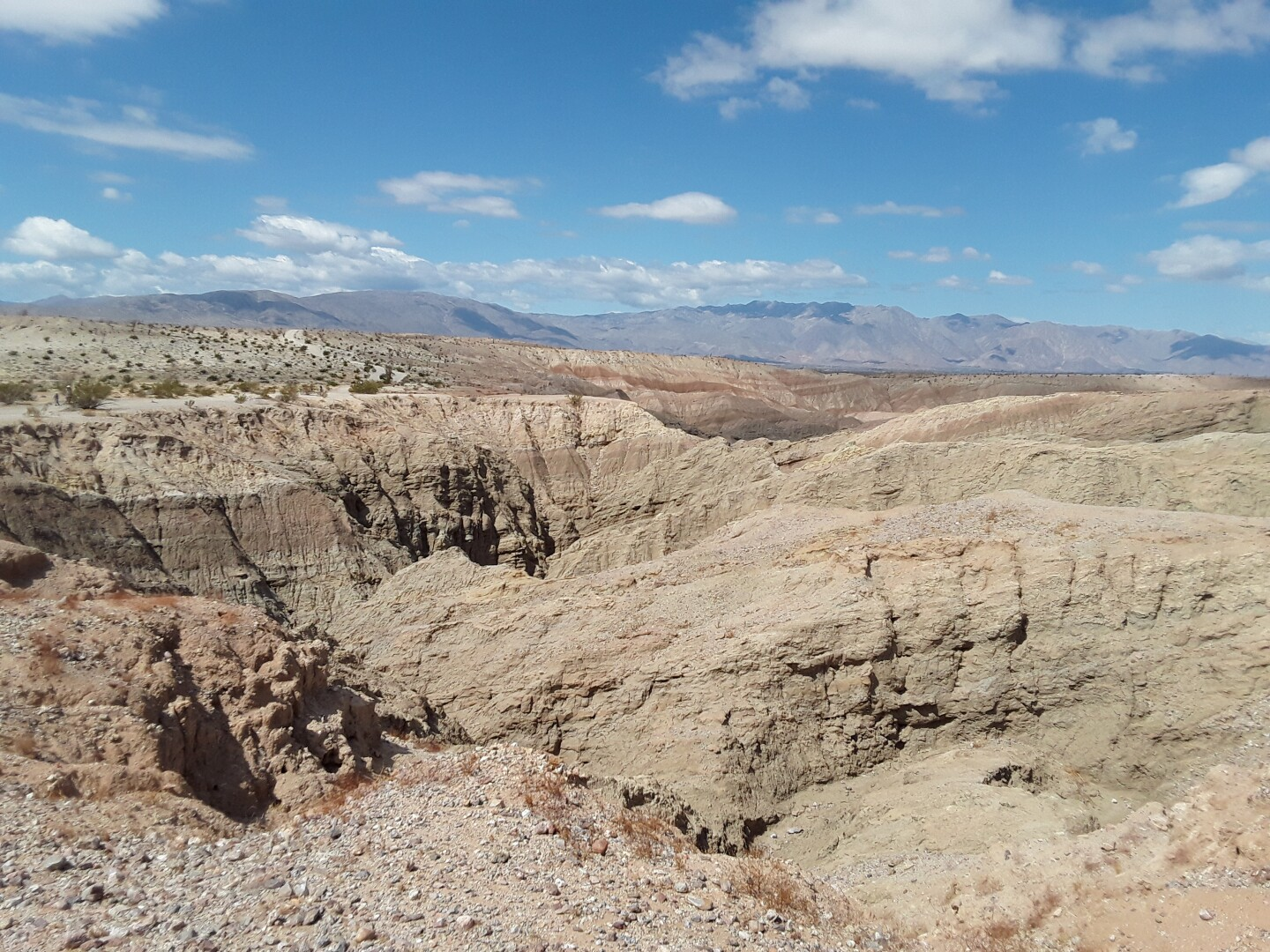 The view at the Slot Canyon Overlook.