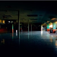 """Clubhouse Turn – Clubhouse Mezzanine, 2013–16"" Archival pigment print with artist's frame | Michele Asselin OCMA Triennial"