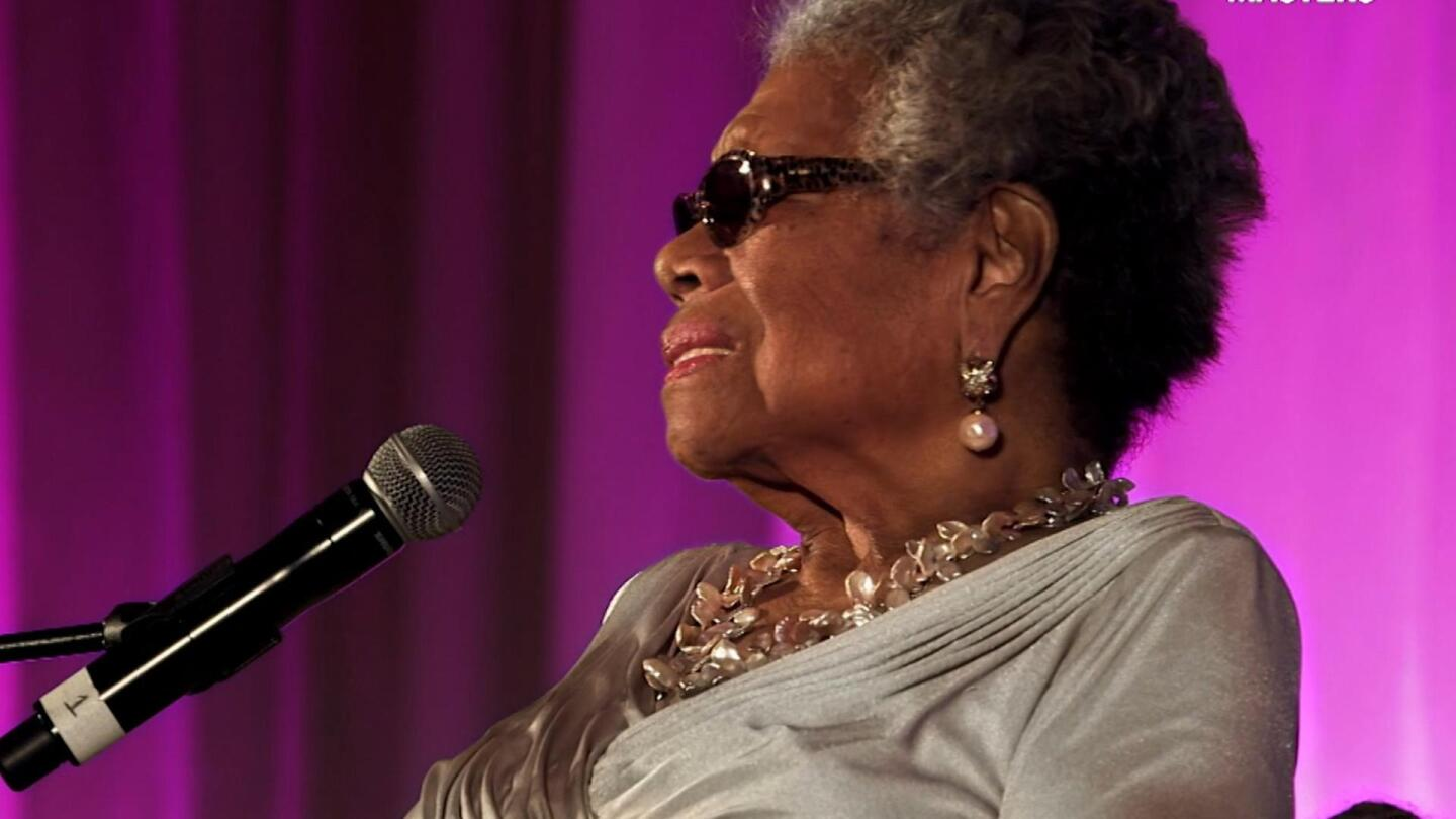 Maya Angelou talks how she met Tupac Shakur for the first time.