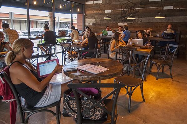 Community and coffee. | Photo: Douglas McCulloh