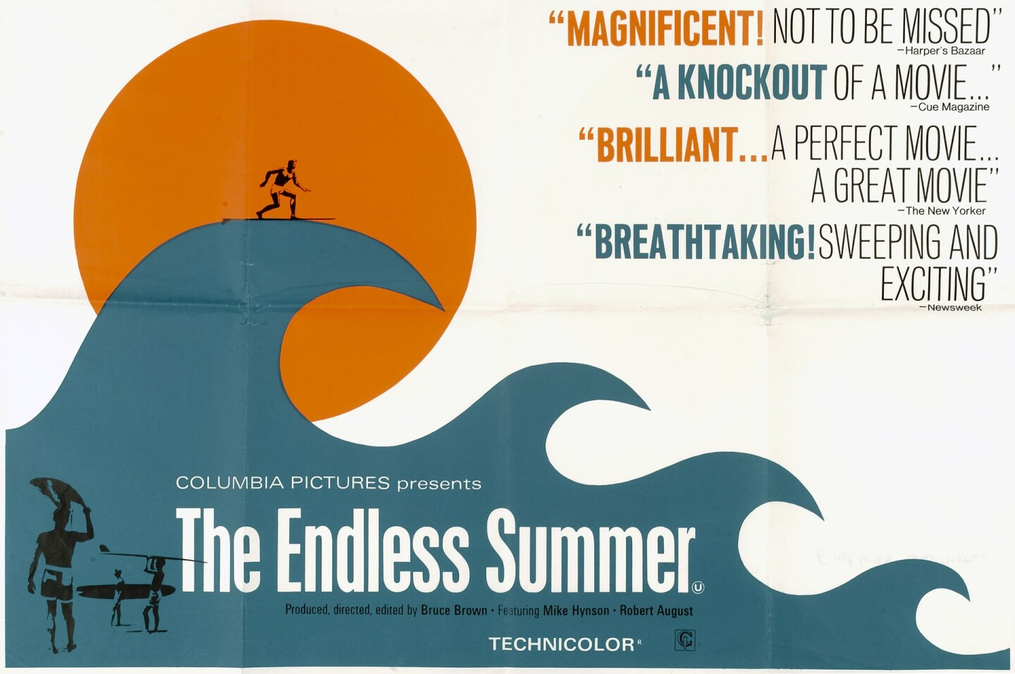 """A flyer for """"The Endless Summer"""" 