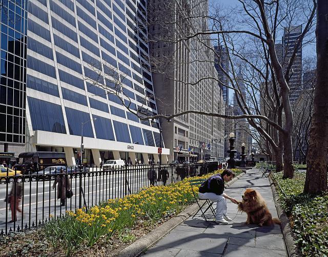 Bryant Park in New York City by Carol M. Highsmith