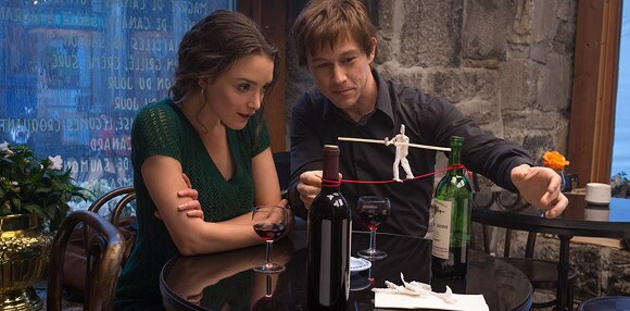 "Charlotte Le Bon as Annie and Joseph Gordon-Levitt as Philippe Petit in ""The Walk."" 