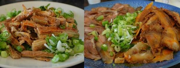 Tripe, pork shanks and bean curd. | Photo credit: Nick Yee