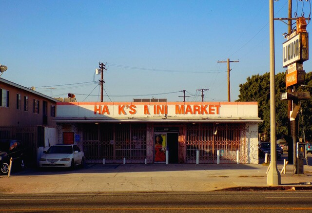 Hank's Mini Mart before photo   Courtesy of  Los Angeles Food Policy Council