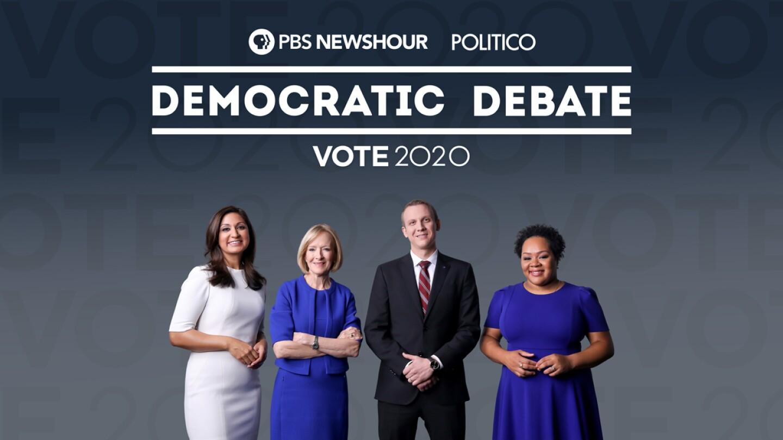 PBS NewsHour & Politico: Democratic Debate - preview