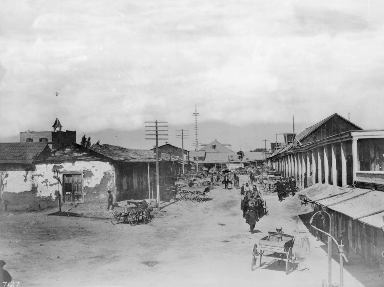 Calle de los Negros, circa 1886