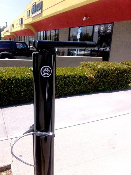 Bicycle Repair Station in Eagle Rock