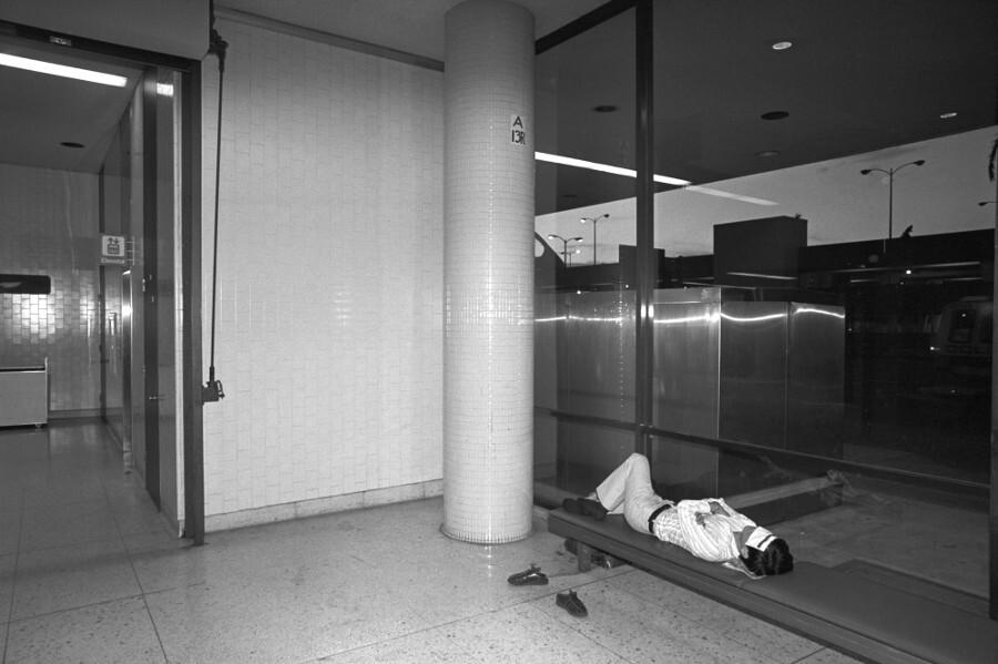 LAX in the 1980s. | Photo: John Brian King.