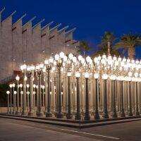 "Chris Burden's ""Urban Light""   © Museum Associates/LACMA"