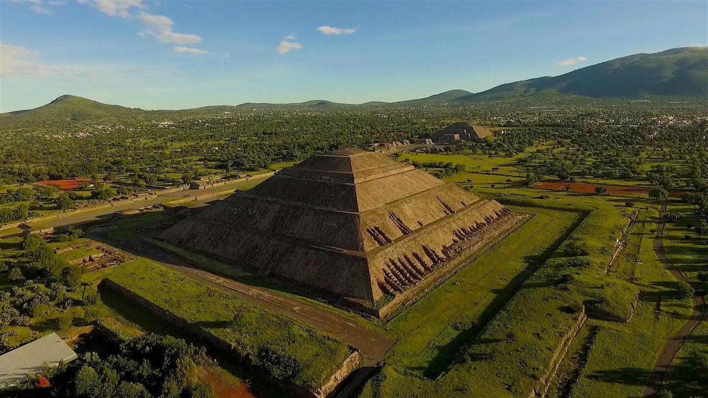 "One of the world's largest pyramids featured in ""Native America: Cities of the Sky."""