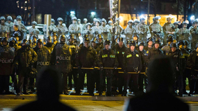 Ferguson Police Line