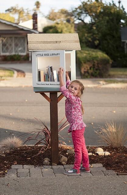 Little Free Library in a San Luis Obispo neighborhood. | Photo: Jeff Van Kleeck.