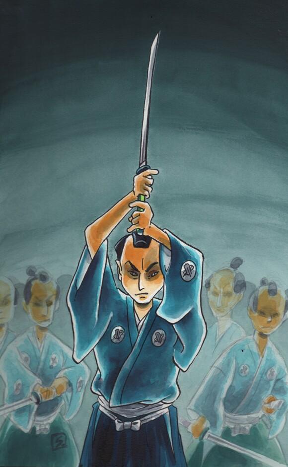 Cover of Stan Sakai's <em>47 Ronin</em>.
