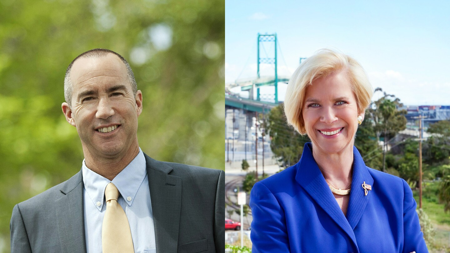 L.A. County Supervisor 4th District Candidates Napolitano and Hahn