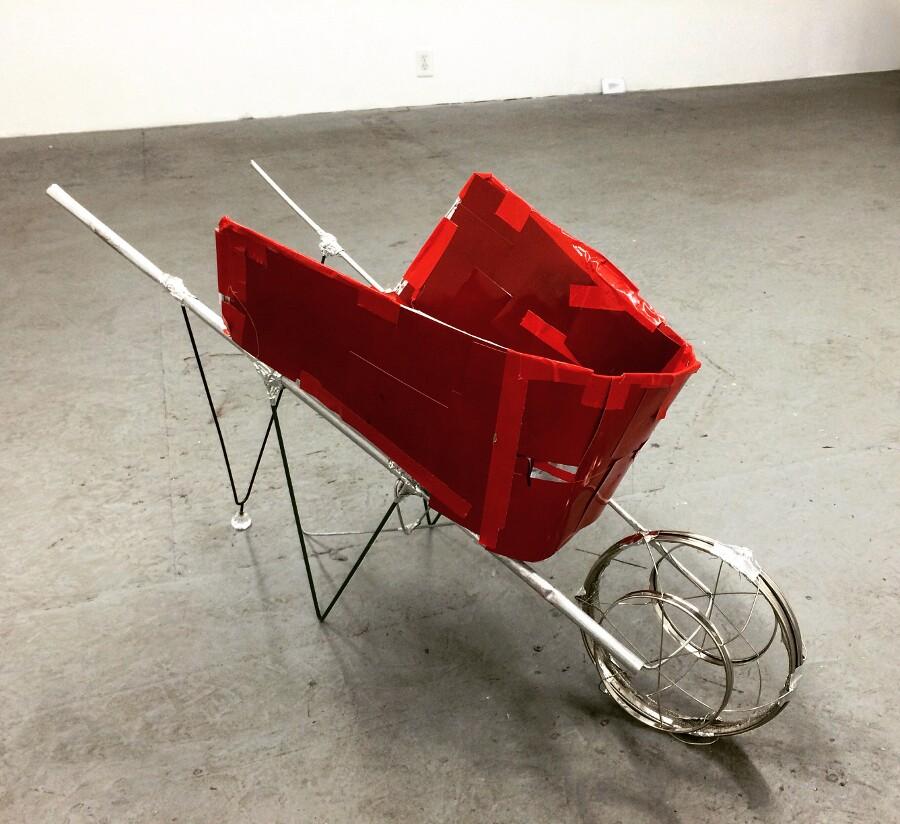 """Kio Griffith, """"Red Wheelbarrow"""""""
