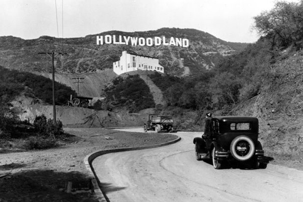 'Hollywoodland' sign | Photo: LAPL