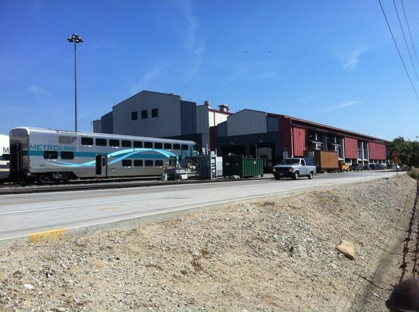 Metrolink Central Maintenance Facility | Photo: Eric Brightwell