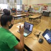 Students at Manchester Ave. Elementary School have virtual meet and greet with teacher