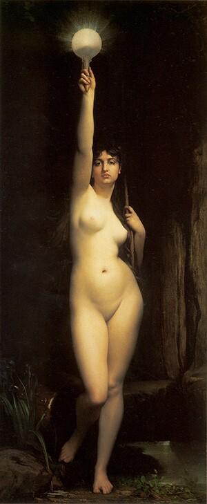 Truth (La Vérité), 1870   Jules Lefebvre