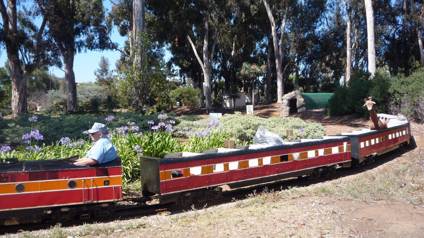 Balboa Park Miniature Train