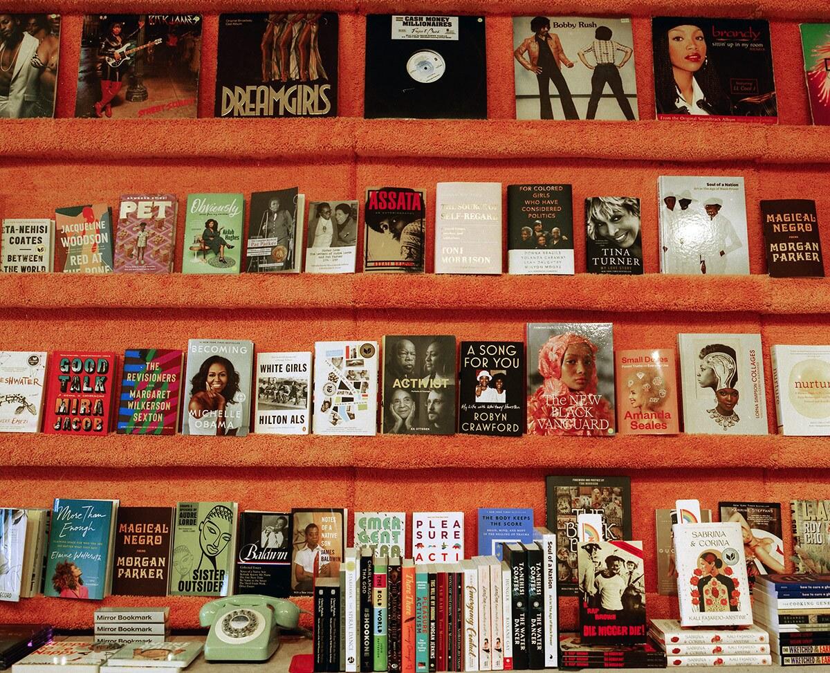 Books at Reparations Club | Adam Davis