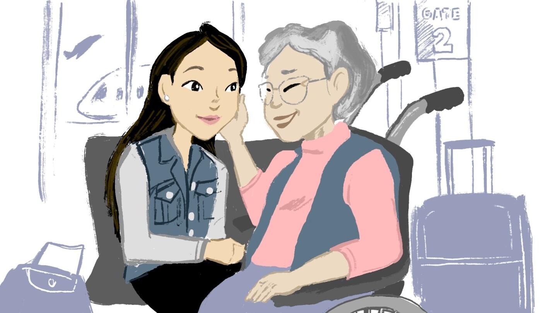 Tracy My Asian American story illustration | Angel Trazo