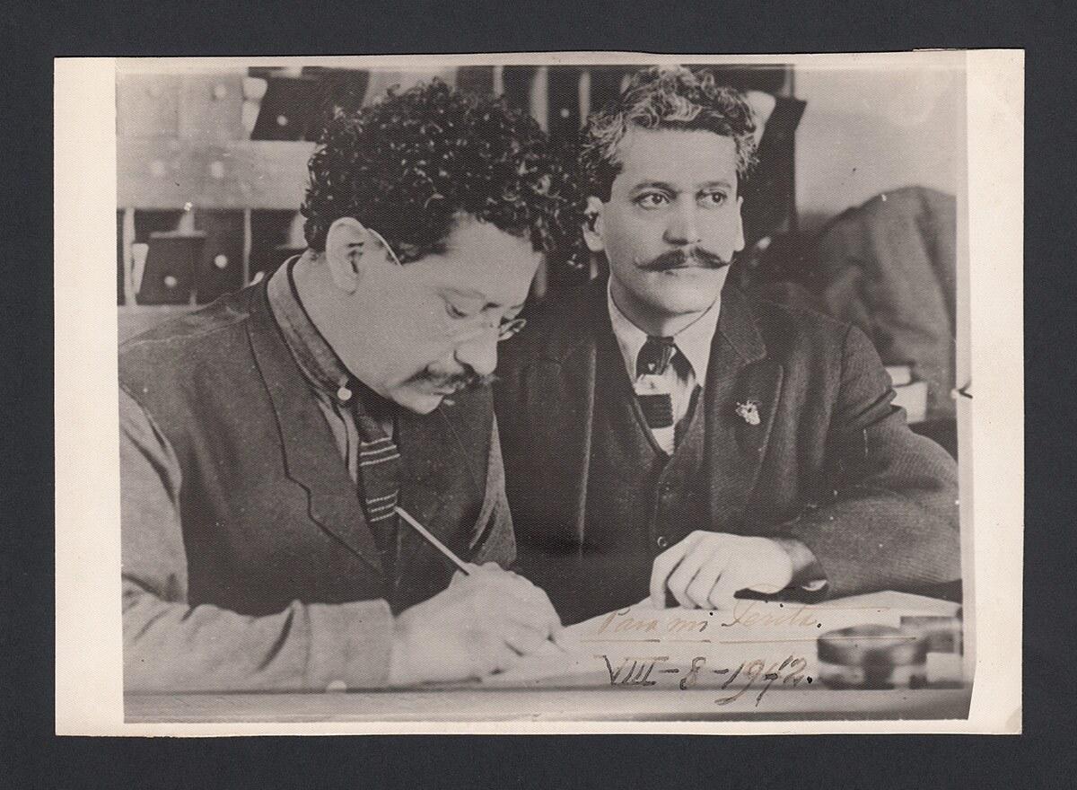 Enrique and Ricardo Flores Magón were both part of Southern California's anarchist movement.   Courtesy of La Casa de El Hijo del Ahuizote
