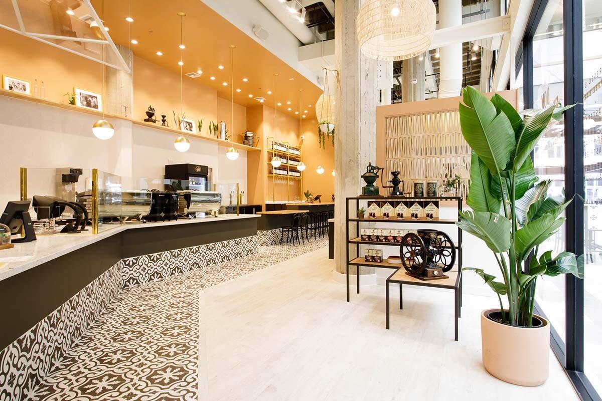 Don Francisco Casa Cubana interior entrance | Courtesy of Gaviña Coffee Company