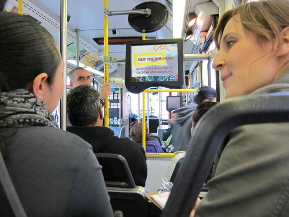 Out the Window on LA Metro buses. Photo | Courtesy Anne Bray.