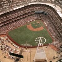 Anaheim Stadium in 1966