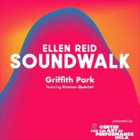An album cover for Ellen Reid Soundwalk