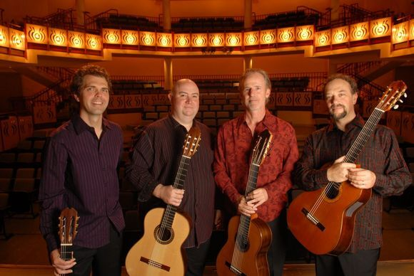 The Los Angeles Guitar Quartet performs Sept. 8 at La Guitarra California Festival.   Courtesy of La Guitarra California Festival