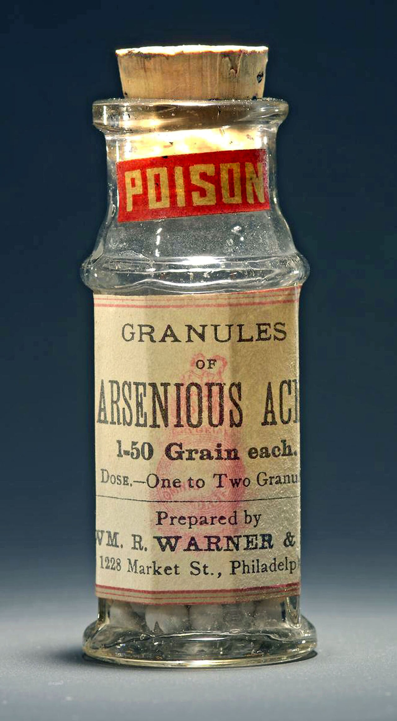 Medicinal Poison. Arsenic- and mercury-based medicines were common, typically sold over-the-counter by Los Angeles druggists. Photograph courtesy of National Museum of American History, Smithsonian Institution
