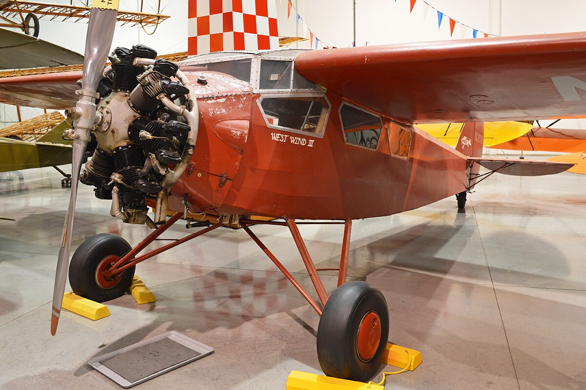 "Cessna AW NC8782 ""West Wind III"" at the Yanks Air Museum. 