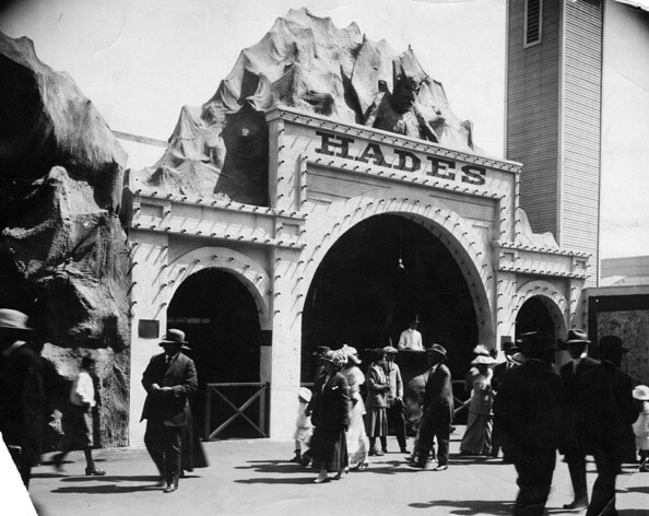 Kinney leased pier space to amusement business extraordinaire and partner, Ernest Pickering   Photo courtesy of Los Angeles Public Library